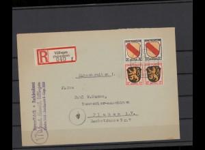 FRZ.ZONE 1946 interessanter Brief (211930)
