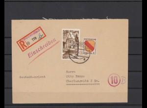 FRZ.ZONE 1946 interessanter Brief (211932)