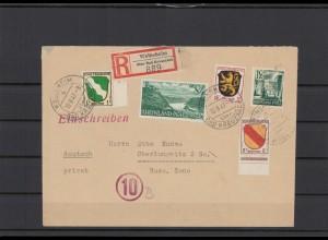 FRZ.ZONE 1946 interessanter Brief (211935)