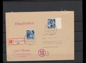 FRZ.ZONE 1946 interessanter Brief (211936)
