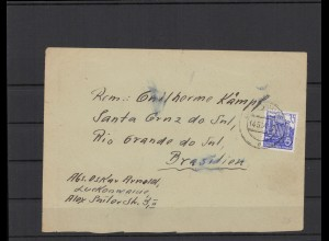 DDR 1954 interessanter Brief (212061)