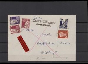 DDR 1952 interessanter Brief (212073)