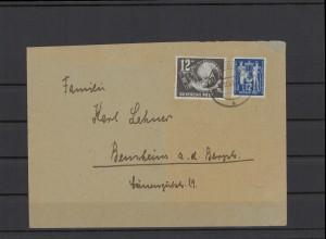 DDR 1949 interessanter Brief (212074)