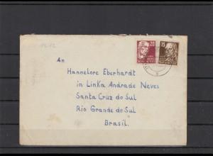 DDR 1950 interessanter Brief (212076)