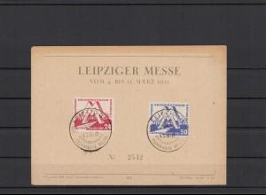 DDR 1951 Nr 282-283 Ersttagsbrief (212315)