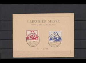 DDR 1951 Nr 282-283 Ersttagsbrief (212316)