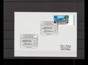 SCHIFFSPOST - 2012 Echt gelaufener Schiffspost- Brief (212711)