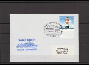 SCHIFFSPOST - 2006 Echt gelaufener Schiffspost- Brief (212714)