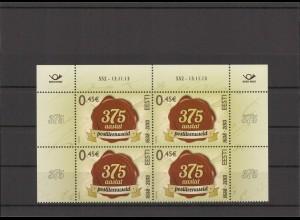 ESTLAND 2013 - Viererblock Nr 775 postfrisch (213081)