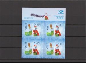 ESTLAND 2013 - Viererblock Nr 778 postfrisch (213082)