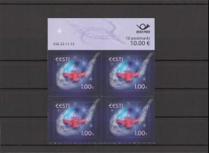 ESTLAND 2013 - Viererblock Nr 779 postfrisch (213083)