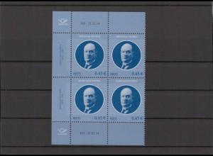 ESTLAND 2014 - Viererblock Nr 786 postfrisch (213085)