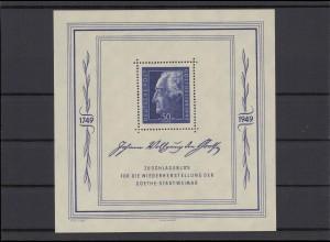 SBZ 1949 Bl.6 postfrisch (213175)