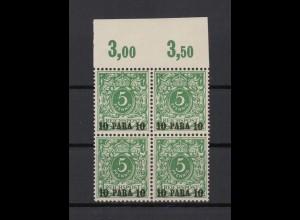 DP TUERKEI 1900 Nr 6c postfrisch (213204)