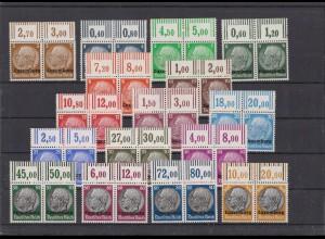 II. WK. LUXEMBURG 1940 Nr 1-16 postfrisch (213334)