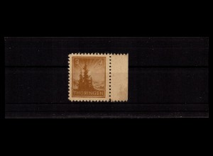 SBZ 1945 Nr 92Yz2 postfrisch (406403)
