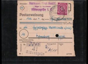 KONTROLLRAT 1946 POSTANWEISUNG siehe Beschreibung (407013)