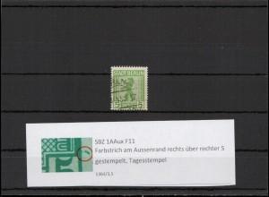 SBZ 1945 PLATTENFEHLER Nr 1AAux F11 gestempelt (407290)