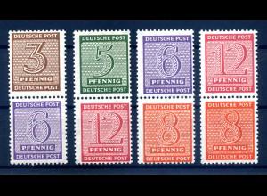 SBZ 1945 SZd3-6 postfrisch (408588)