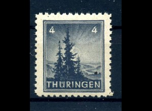 SBZ 1945 Nr 93AXp2 postfrisch (408633)