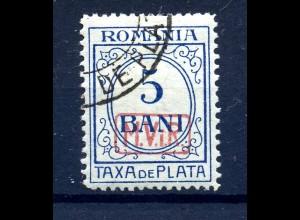 MV IN RUMAENIEN 1917 Nr P6 gestempelt (408701)