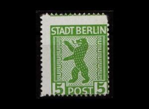 SBZ 1945 Nr 1AB ux postfrisch (500158)