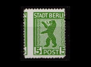 SBZ 1945 Nr 1AB ux postfrisch (500159)