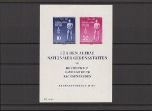 DDR 1955 Bl.11 postfrisch (213397)