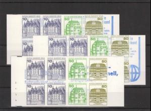 BERLIN 1982 MH 13a+b+c postfrisch (213439)