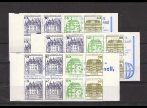 BERLIN 1982 MH 13a+b+c postfrisch (213440)