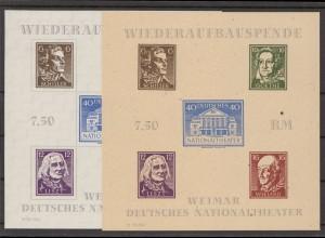 SBZ 1945 Bl.3A/B postfrisch (213477)