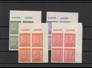 SBZ 1945 Nr 116-119X postfrisch (213555)
