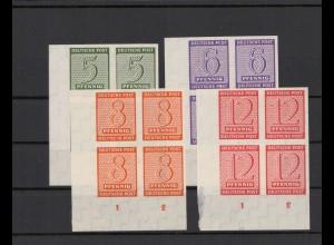 SBZ 1945 Nr 116-119X postfrisch (213556)