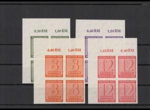 SBZ 1945 Nr 116-119X postfrisch (213557)