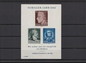 DDR 1955 Bl.12 postfrisch (213668)