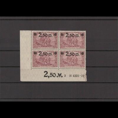 DEUTSCHES REICH 1920 Nr 118a postfrisch (213731)
