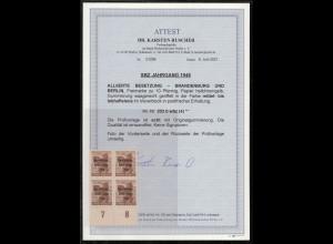 SBZ 1948 Nr 203Abwbz postfrisch (213735)