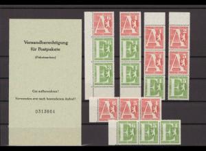 BERLIN 1961 MH PZ I postfrisch (213740)