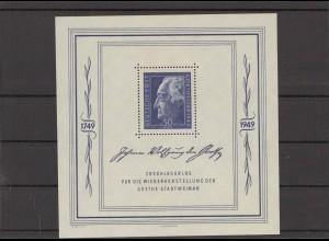 SBZ 1949 Bl.6 postfrisch (213937)