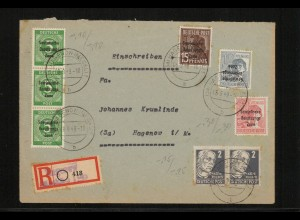 SBZ 1948 Nr 186K gestempelt (214017)