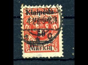 MEMEL 1923 Nr 131 gestempelt (409527)