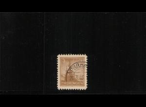 SBZ 1945 Nr 92AYaz2 I gestempelt (409833)