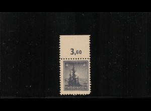 SBZ 1945 Nr 93AXt I postfrisch (409845)