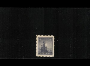 SBZ 1945 Nr 93AXp1 I postfrisch (409847)