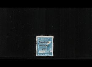 SBZ 1948 Nr 189d postfrisch (410002)
