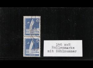 BERLIN 1956 Nr 145xw R gestempelt (410014)