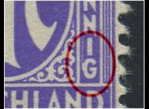 1z F95 (VII) postfrisch, waag. Paar, gepr. Dr.Koch VP (1121)