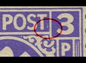 1z F67 postfrisch, waag. Paar mit Normalmarke (2524)