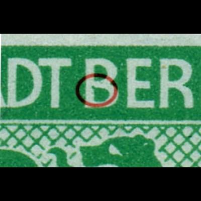 1ABuy F17 postfrisch, im Viererblock mit Normalmarken (6537)